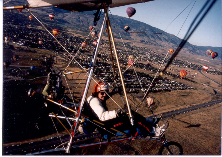 Lear Fan Trike, Reno Ballon Races