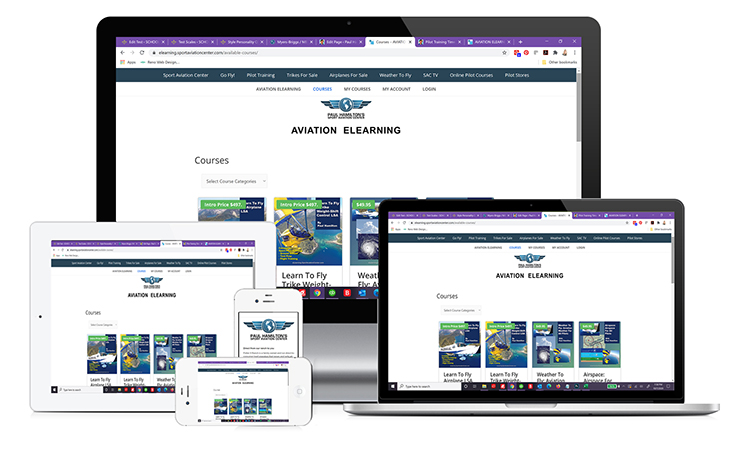 Paul Hamilton's Sport Aviation Center Online Aviation Pilot Training Courses